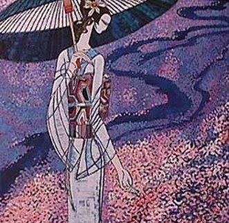 Cherry Blossom 1988 Limited Edition Print by Shao Kuang Ting