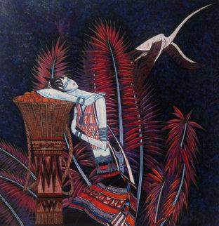 Purple Dreams 1989 Limited Edition Print - Shao Kuang Ting