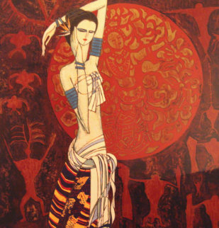 June Bride AP 1984 Limited Edition Print by Shao Kuang Ting