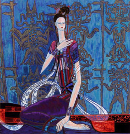 Calling the Soul AP 1989 Limited Edition Print by Shao Kuang Ting