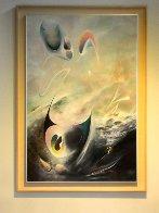 E.T And Me 65x45 Super Huge Original Painting by Alexander Kubaiski - 1