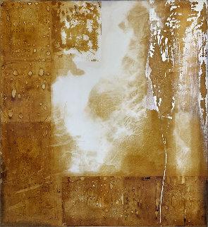 White Spectrum 2005 63x59 Original Painting - Jerzy Kubina