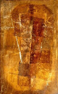 Space 2015 96x53 Original Painting - Jerzy Kubina