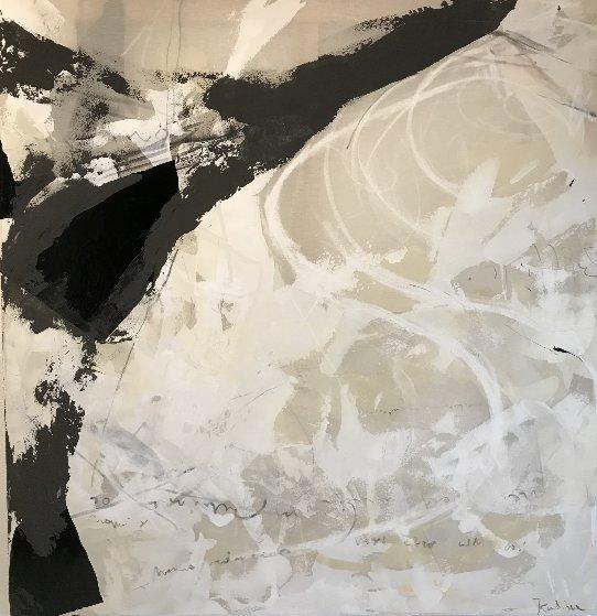 Awakening II 2019 56x53 Original Painting by Jerzy Kubina