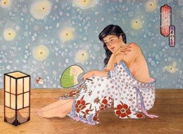 Fireflies 1988 Limited Edition Print by Muramasa Kudo
