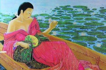 Water Lilies Limited Edition Print by Muramasa Kudo