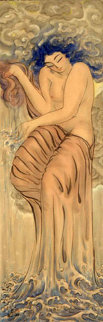 Water Goddess Watercolor - Muramasa Kudo