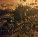Ile De La Cite, No. 1 1955 37x37 Original Painting by Roger Edward Kuntz - 0