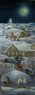 Christmas Eve 1988 Limited Edition Print - Rajka Kupesic