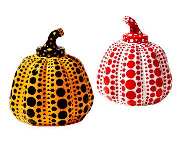Pumpkin (Red) ; Pumpkin (Yellow) Resin Sculptures 2015 4 in Sculpture - Yayoi Kusama
