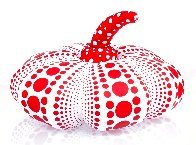 Dots Obsession Mixed Media Soft Sculpture 2016 10x4 Sculpture by Yayoi Kusama - 1