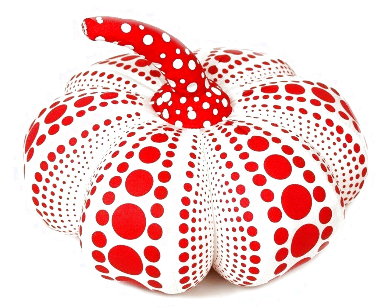 Dots Obsession Mixed Media Soft Sculpture 2016 10x4 Sculpture by Yayoi Kusama