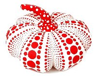 Dots Obsession Mixed Media Soft Sculpture 2016 10x4 Sculpture by Yayoi Kusama - 0