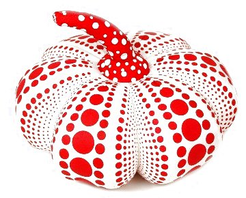 Dots Obsession Mixed Media Soft Sculpture 2016 10x4 Sculpture - Yayoi Kusama