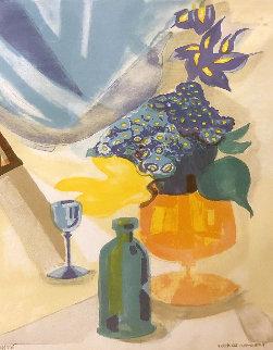 Les Iris 1991 Limited Edition Print - Georges Lambert