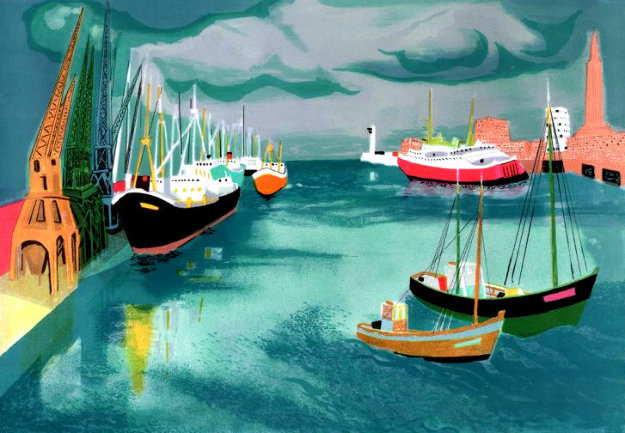 Le Harve Limited Edition Print by Georges Lambert