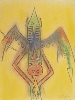 Pieni Luna Suite: Innocence 1974 Limited Edition Print by Wifredo Lam