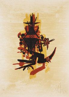 El Ultimo Viaje del Buque Fantasma 1976 Limited Edition Print - Wifredo Lam