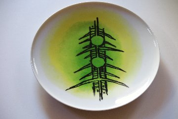 Ceramica DI Albisola - Large Platter B - 1970 12 in Other - Wifredo Lam