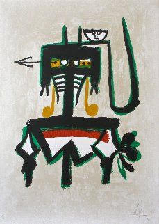 Barcelona (with Green) 1976 Limited Edition Print by Wifredo Lam