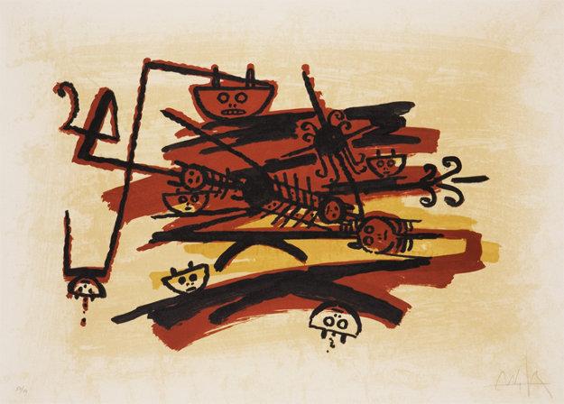 El Ultimo Viaje Del Buque Fantasma II 1976 Limited Edition Print by Wifredo Lam