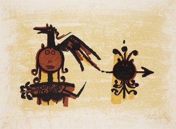 El Ultimo Viaje Del Buque Fantasma III 1976  Limited Edition Print by Wifredo Lam