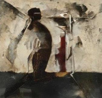 Patheon 1994 32x32 Original Painting by T.L. Lange