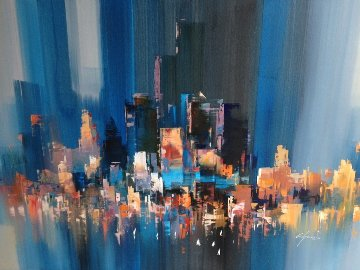 Untitled 36x48 Original Painting by Wilfred Lang
