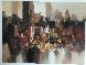 Untitled Painting 1992 35x47 Original Painting by Wilfred Lang - 1
