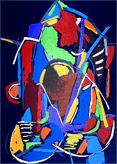 Abstraction 1972 Limited Edition Print - Andre Lanskoy