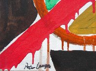 Abstract 13x17 Original Painting by Peter Lanyon - 3