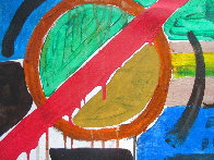 Abstract 13x17 Original Painting by Peter Lanyon - 1