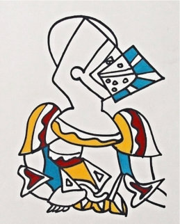 Untitled 1959 EA Limited Edition Print - Charles Lapicque