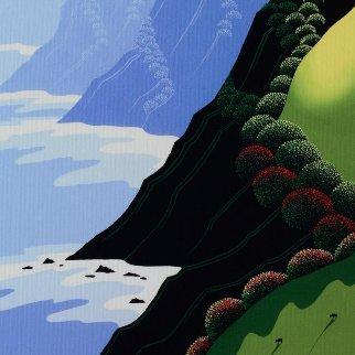 Emerald Cliffs 2012 Limited Edition Print by Larissa Holt