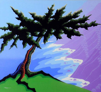 Cypress Point 2009 Limited Edition Print by Larissa Holt