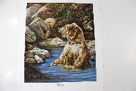 Bearly Seen 1989 Limited Edition Print by Judy Larson - 1