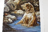 Bearly Seen 1989 Limited Edition Print by Judy Larson - 2