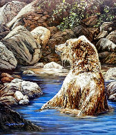Bearly Seen 1989 Limited Edition Print by Judy Larson - 0