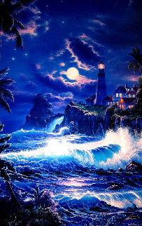 Moonlit Serenity 1999 Limited Edition Print - Christian Riese Lassen