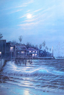 Home Port 1986 Limited Edition Print - Christian Riese Lassen