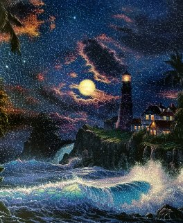 Moonlit Serenity AP 2007  Limited Edition Print by Christian Riese Lassen