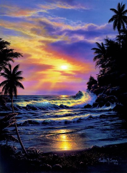 Sapphire Nights 1994 Limited Edition Print by Christian Riese Lassen