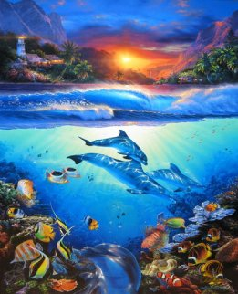 Mystical Journey  2003 Limited Edition Print by Christian Riese Lassen
