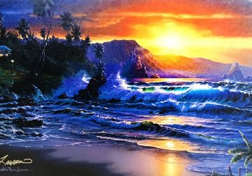 Maui Daybreak AP 2001 w Diamonds Limited Edition Print - Christian Riese Lassen