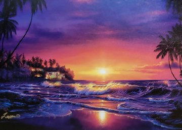 Amber Dawn 2001 Limited Edition Print by Christian Riese Lassen