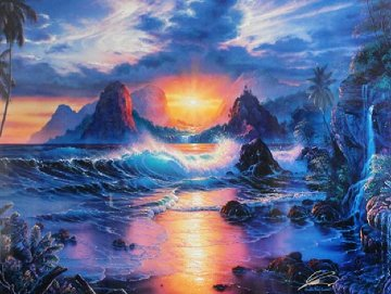 Dawn of an Era PP  2002 Limited Edition Print - Christian Riese Lassen