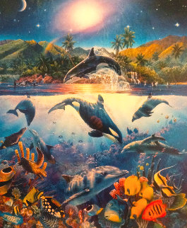 Rainbow Sea 1994 Limited Edition Print by Christian Riese Lassen