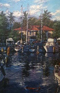 Lahaina Reflections 1988 Limited Edition Print - Christian Riese Lassen