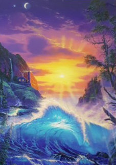 Dawn of Light 1999 Limited Edition Print by Christian Riese Lassen