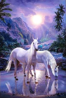 Peaceful Moment 2002 Limited Edition Print by Christian Riese Lassen